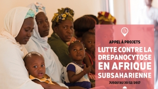 [Appel à projets] Lutte contre la drépanocytose en Afrique subsaharienne