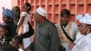 Visite - Lilian Thuram au CRLD de Bamako