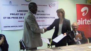 Burkina Faso – Un nouveau partenariat contre la drépanocytose
