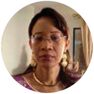 Lalla Aicha DIAKITÉ, Présidente de l'association Solidarité pour l'Insertion des Albinos du Mali