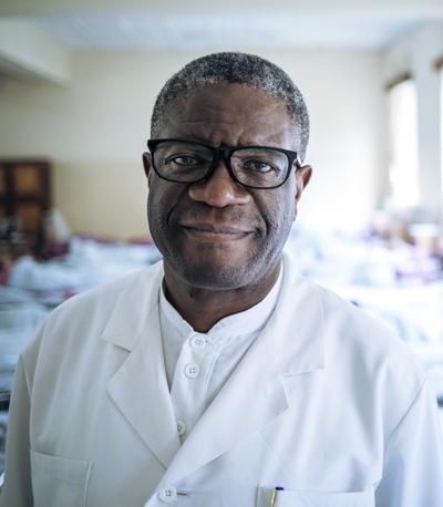 Dr Denis MUKWEGE, Chirurgien gynécologue fondateur de l'hôpital de Panzi, en République démocratique du Congo