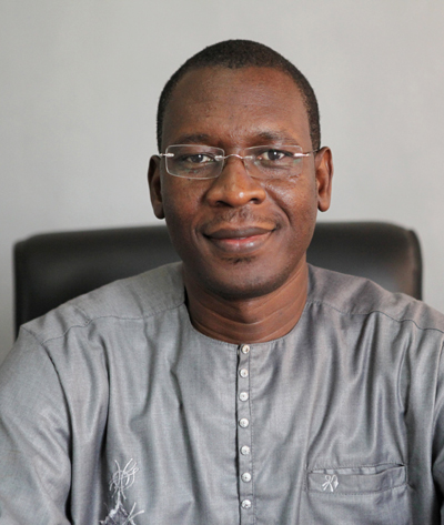 Pr Ousmane FAYE, Chef du service dermatologie du Centre national d'appui à la lutte contre la maladie (CNAM) à Bamako, au Mali, à l'origine de l'initiative TelederMali
