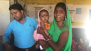 Improving mother and child health – Khushi Baby