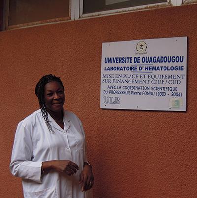 Éléonore Kafando, biologiste et professeur d'hématologie